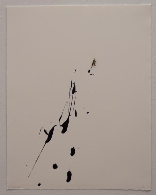 , 'Man with bucket,' 2014, Espacio Mínimo