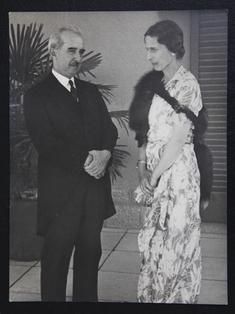 Alfred Eisenstaedt, 'Turkish Prime Minister Ismel Pasha and Swedish Crown Princess Luise', 1934, Laurence Miller Gallery
