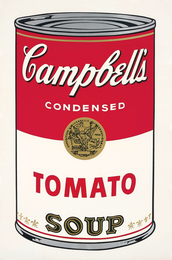 Tomato Soup, from Campbell's Soup I