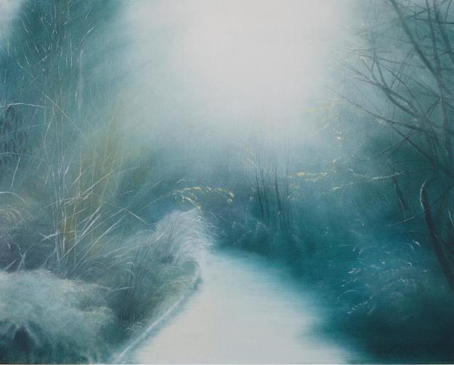 , 'Winter in the park ,' 2018, Kultproekt