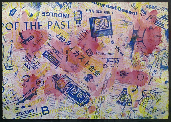 Kenny Scharf, 'The Past', 1990-1991, Marcel Katz Art
