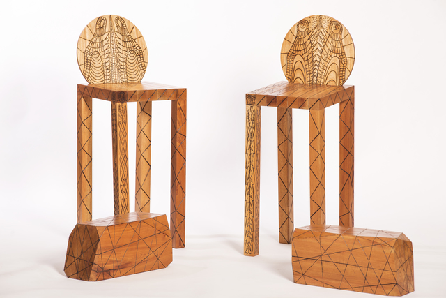 , 'Levantate y Anda Bar Stools,' 2014, Cristina Grajales Gallery