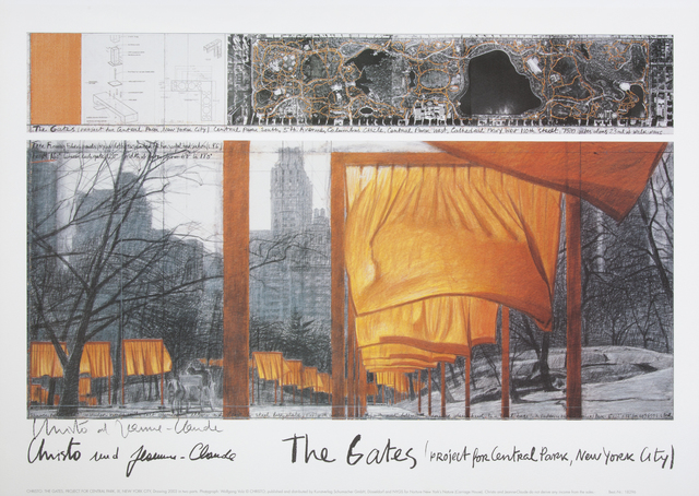 Christo and Jeanne-Claude, 'The Gates', 2003, Julien's Auctions