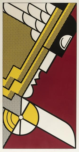 Roy Lichtenstein, 'Salute to Aviation (Cortlett 63)', 1968, Forum Auctions