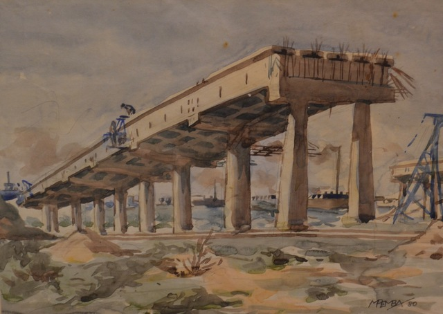 , 'Road Works,' 1980, Gallery MOMO