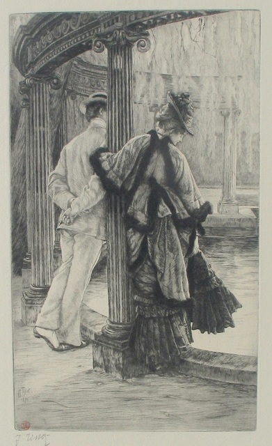 , 'Lovers' Quarrel,' 1876, Jan Johnson Old Master & Modern Prints