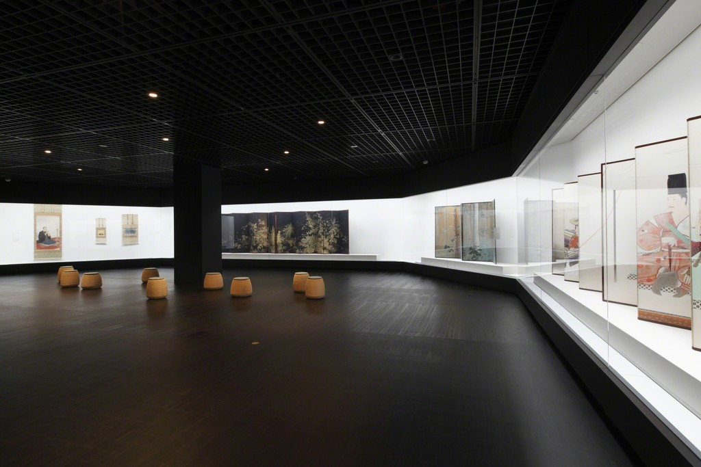 "Installation view of ""Collection Gallery (3rd floor: Japanese-style Painting)"" at The National Museum of Modern Art, Tokyo. Photo: Kioku Keizo"