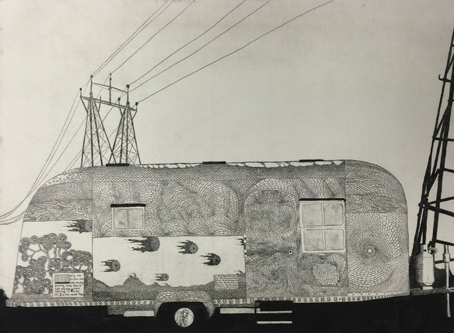 , 'Bowlus Brickstream Trailer,' 2015, International Print Center New York (IPCNY)