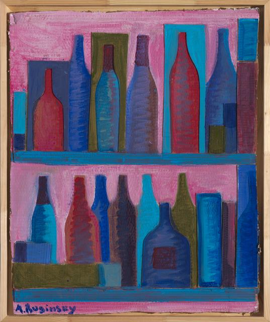 , 'Bottles on pink background,' 1978, Art4.ru