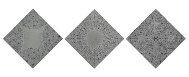 , 'Meridians,Quadrants, Intervals (3 pieces a set),' 2018, Bluerider ART