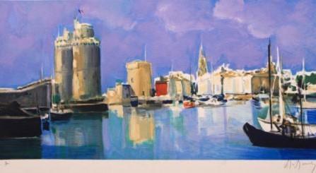 Marcel Mouly, 'Le Port de la Rochelle ', The Loft Fine Art