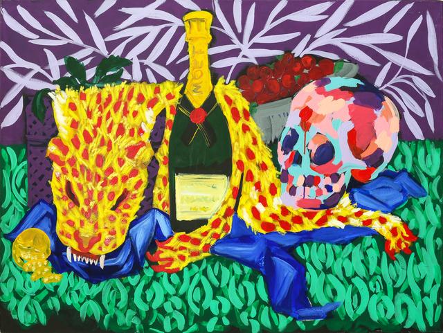 , 'Moët Skull ,' 2017, Maddox Gallery