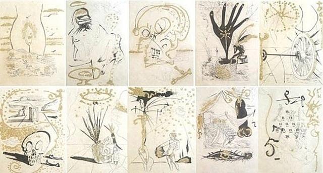 Salvador Dalí, 'Les Amour Jaunes Portfolio (Golden Loves)', Robin Rile Fine Art