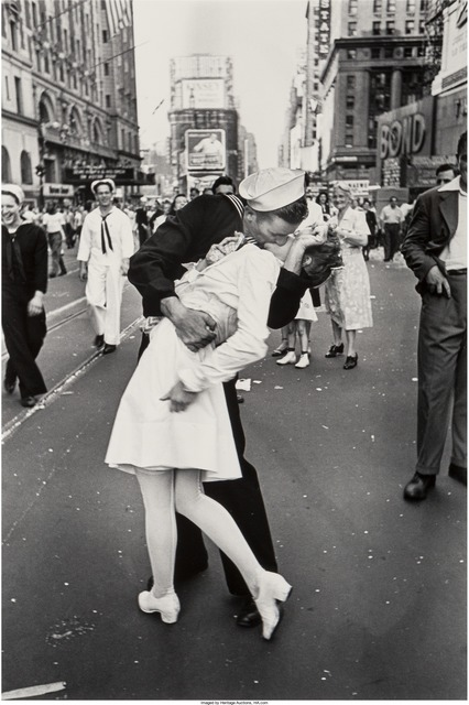 Alfred Eisenstaedt, 'V.J. Day , Times Square, New York City', 1945, Heritage Auctions