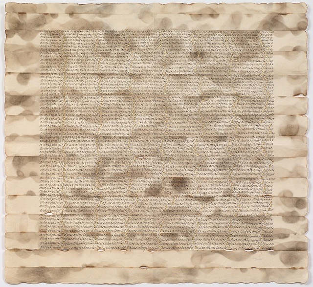 , 'Untitled (Angebrantes Papier - Burned paper),' 1975, Richard Saltoun