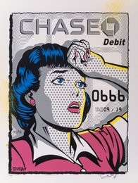 Chase, with credit card