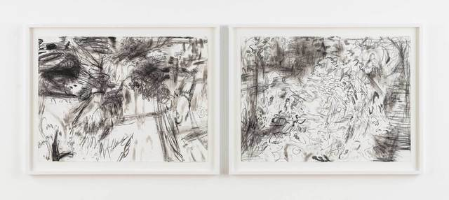 , 'No title (winter notes) #57 - 58,' 2016, Stephen Friedman Gallery