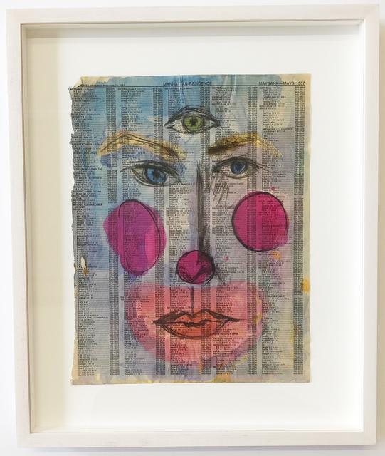 , 'Ajna, Clown Spirit,' , MARTOS GALLERY