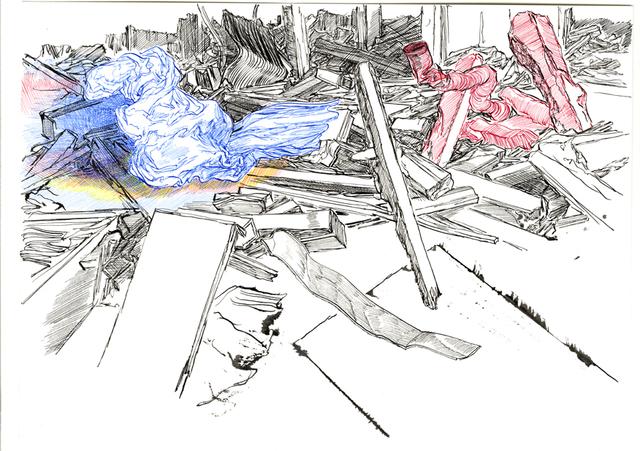 , 'Composition 16,' 2016, Galerija VARTAI