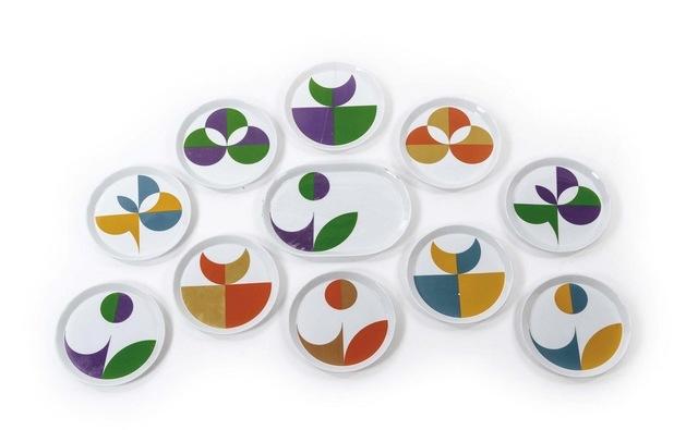 Gio Ponti, 'Set of 19 plates', 1967, Galleria Rossella Colombari