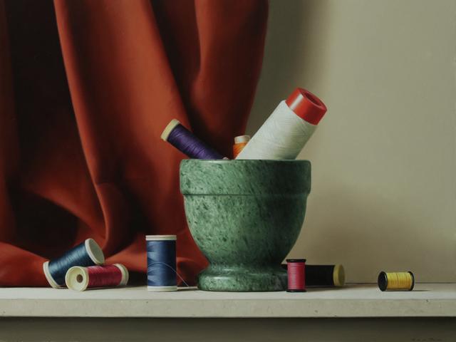 , 'Colored threads,' 2017, GALERIA JORDI BARNADAS