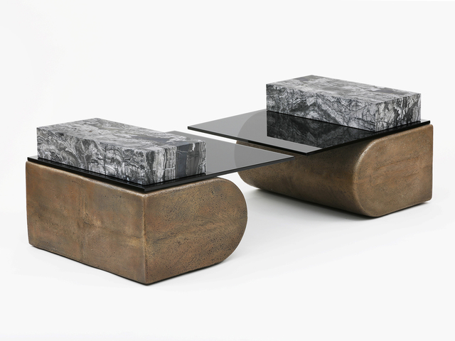 , 'Cantilever Tables,' 2017, Patrick Parrish Gallery