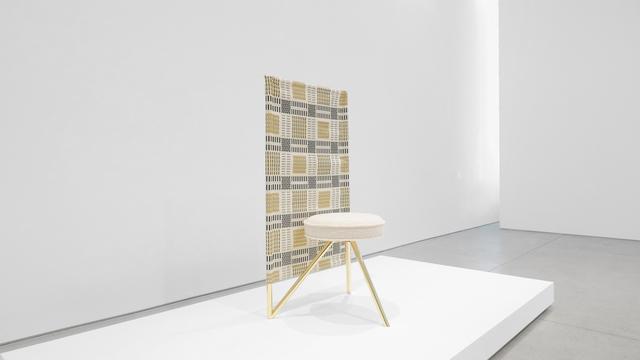 , ''Miss Wirt' Canvas Chair,' ca. 1982, Peter Blake Gallery