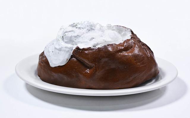 , 'Claes Oldenburg, Baked Potato, cast resin, acrylic, Shenango china dish, initialed in ink, 1966,' 1966, Shapero Modern
