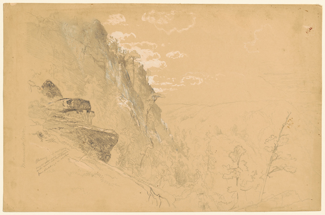 Aaron Draper Shattuck, 'Monument Mountain', 1862, Clark Art Institute