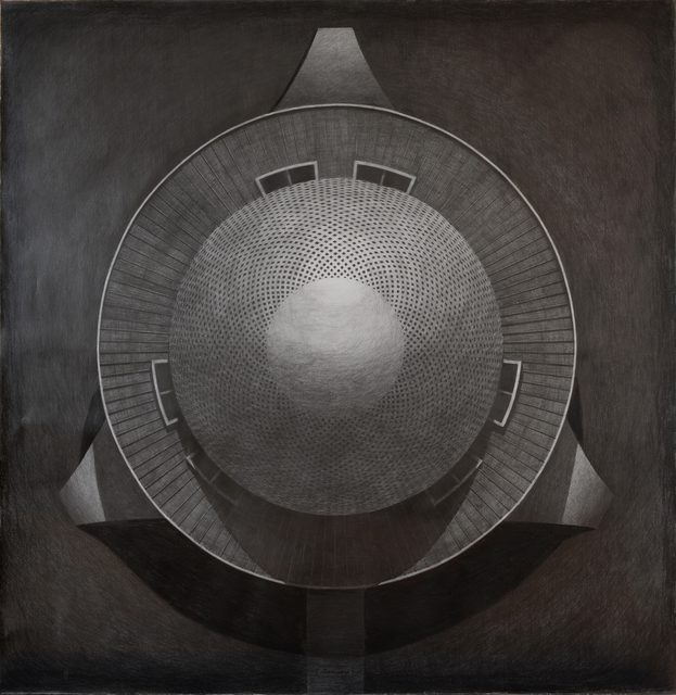 Juan Ranieri, 'Planetario', 2018, Drawing, Collage or other Work on Paper, Graphite on paper, Smart Gallery BA