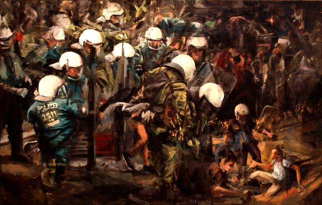 , 'Servir y proteger,' 2017, Yam Gallery