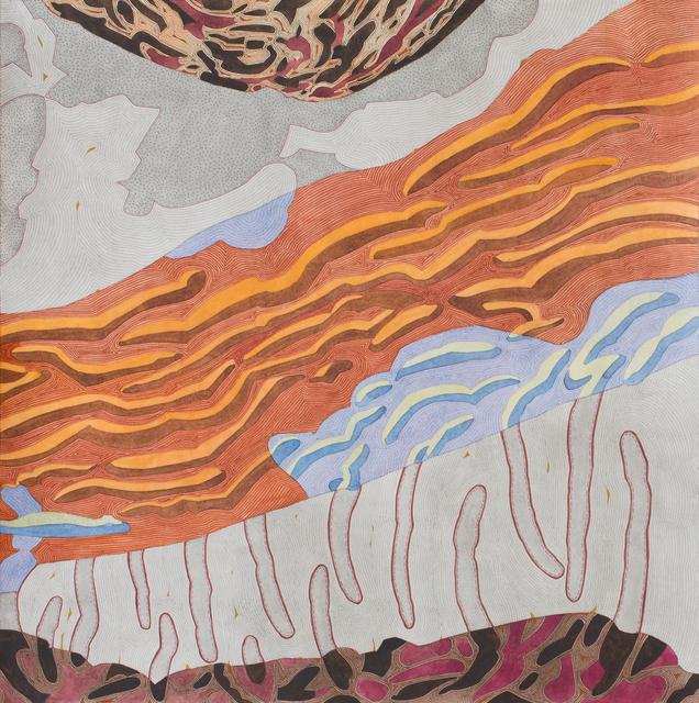 , 'Untitled IV (blowdown series),' 2018, Michael Warren Contemporary