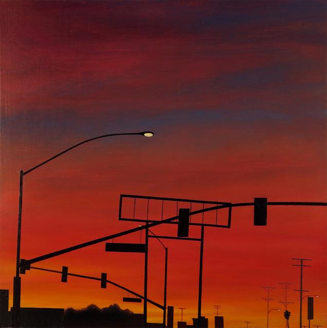 , 'Red Flood,' 2016, Sue Greenwood Fine Art