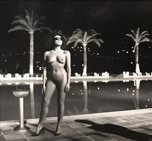 , 'Pool, Old Beach, Monte Carlo,' 1981, Holden Luntz Gallery