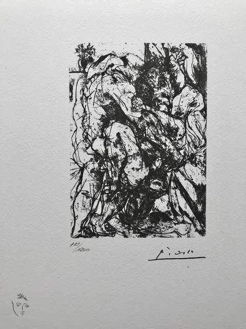 Pablo Picasso, 'Le viol sous la fenêtre', 1973, ByNewArt