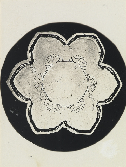 """Wilson A. """"Snowflake"""" Bentley, 'Group of 3 microphotographs depicting snowflakes', Circa 1910, Swann Auction Galleries"""