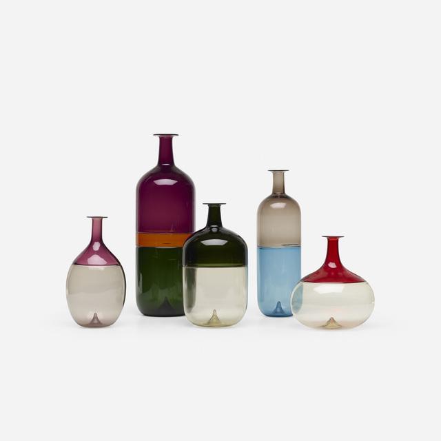 Tapio Wirkkala, 'Collection of five vases', 2003, Wright