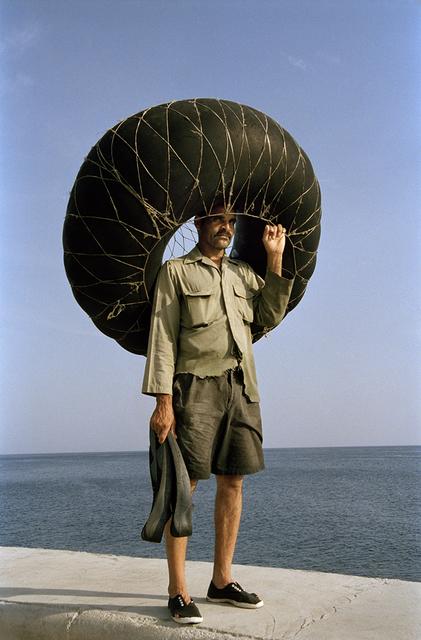 , 'Fisherman with an Innertube, Havana ,' 2005, Wall Space Gallery