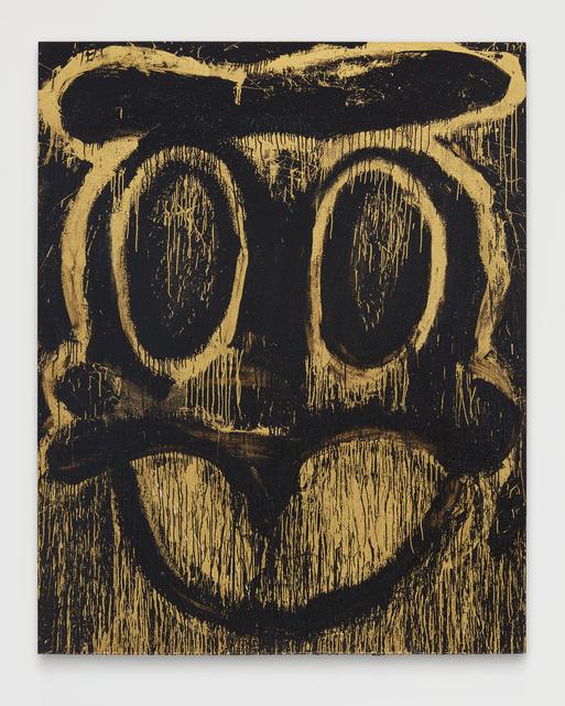 Joyce Pensato, 'Golden Donald Duck', 2014, Over the Influence