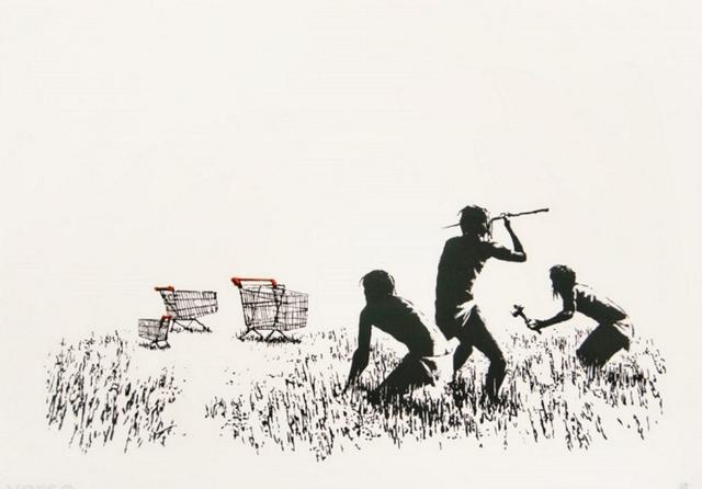 Banksy, 'Trolley Hunters', 2007, Rhodes