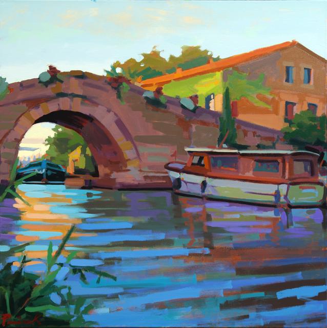 , 'Le Somail Bridge,' 2018, ArtProv Gallery