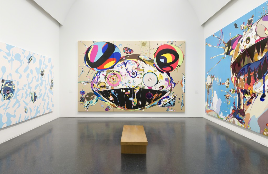 takashi murakami the octopus eats its own leg mca chicago artsy