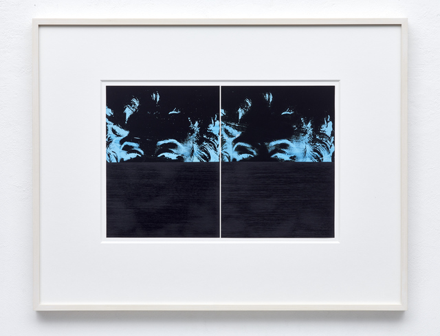 , 'Double Marilyn (Blue/Black),' 2014, Taguchi Fine Art