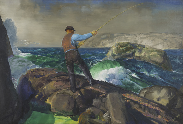 , 'The Fisherman,' 1917, Amon Carter Museum of American Art