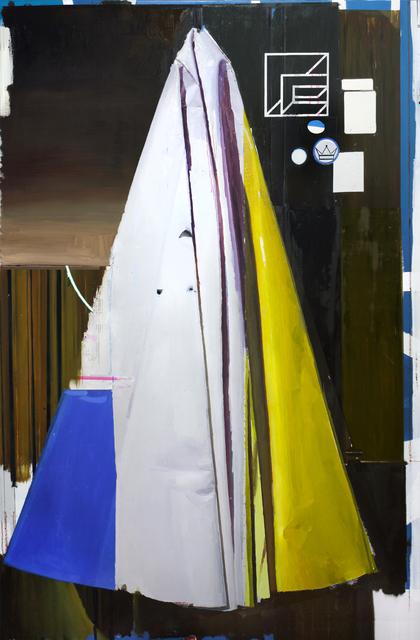 , 'Composición con amarillo p.m.,' 2015, Luis Adelantado