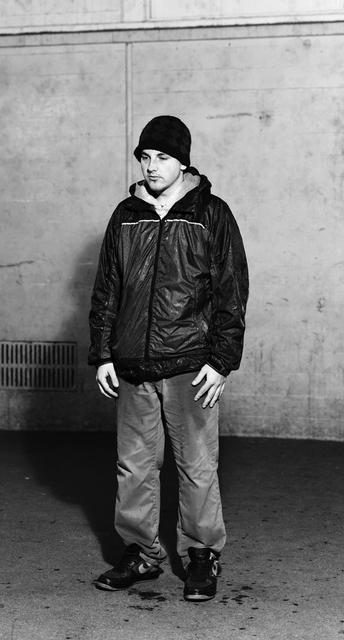 Jeff Wall, 'Young man wet with rain', 2011, kestnergesellschaft