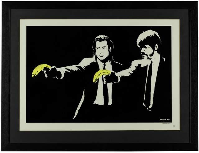 Banksy, 'Pulp Fiction', 2004, Fine Art Mia