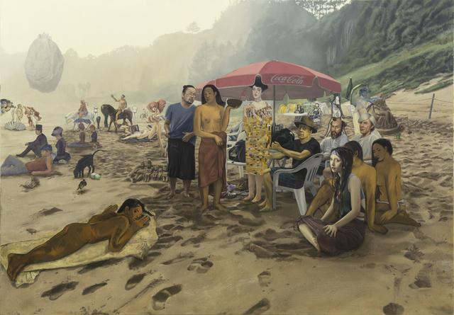, 'Artistice Beach ,' 2015, ATELIER AKI