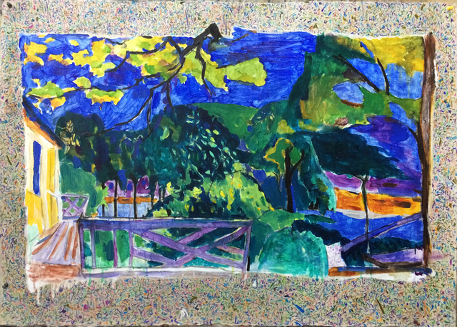 , 'Chinese brush- a dialogue with Bonnard (1) ,' 2014, A Thousand Plateaus Art Space