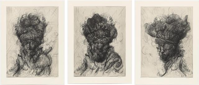 Glenn Brown, 'Half-Life (after Rembrandt)', 2017, Galerie Maximillian
